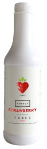 SIMPLY Strawberry Fruit Puree - 1 Litre